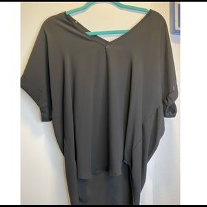 Black blouse - great for work!